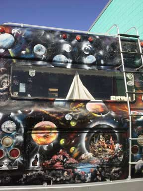 spray paint art van