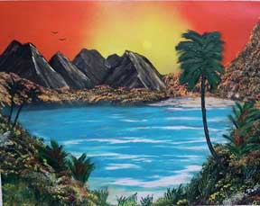 ralph's spray paint art secrets painting